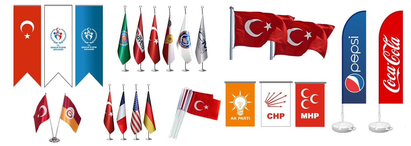 Bayrak İmalatı Çeşitleri