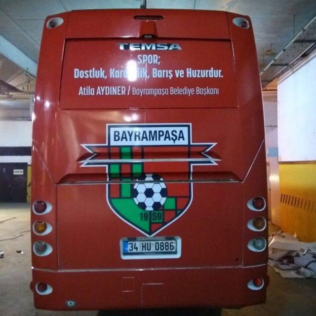 Bayrampaşa Spor Otobüs Giydirme