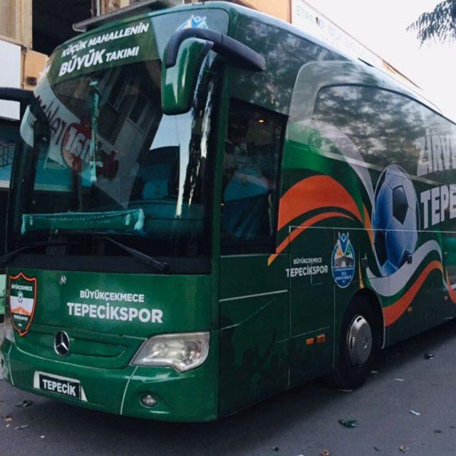 Büyükçekmece Tepecikspor Otobüs Giydirme